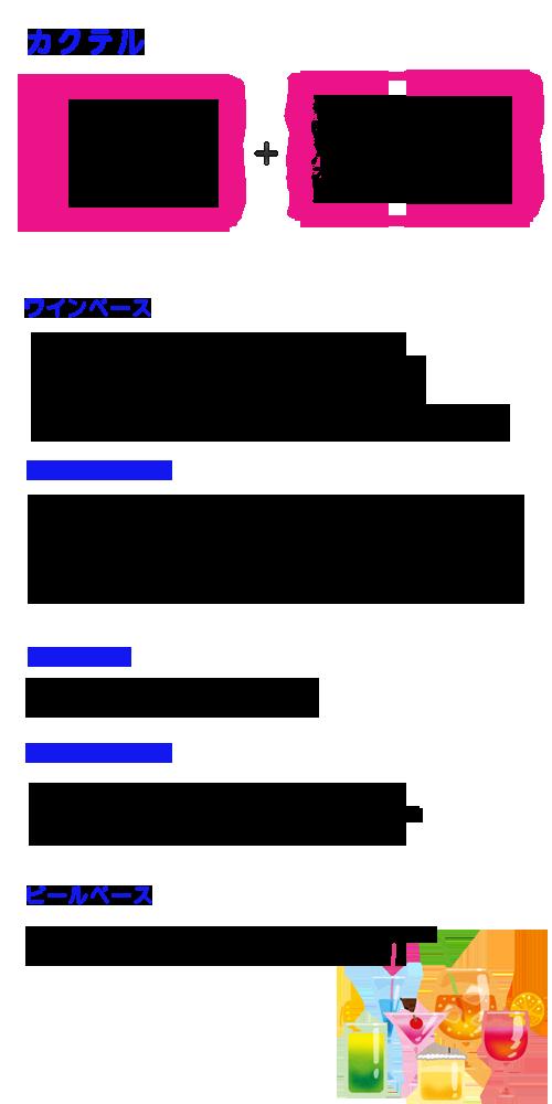 船橋インコントロカクテル